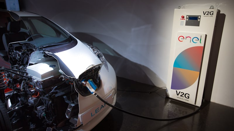 British Nissan Leaf drivers will be able to sell spare electricity