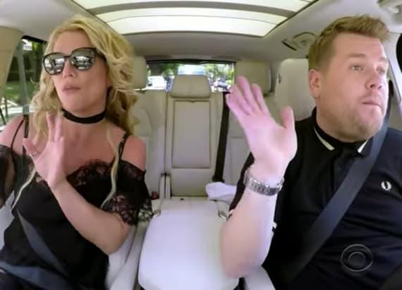 Watch Britney's 'Carpool Karaoke'