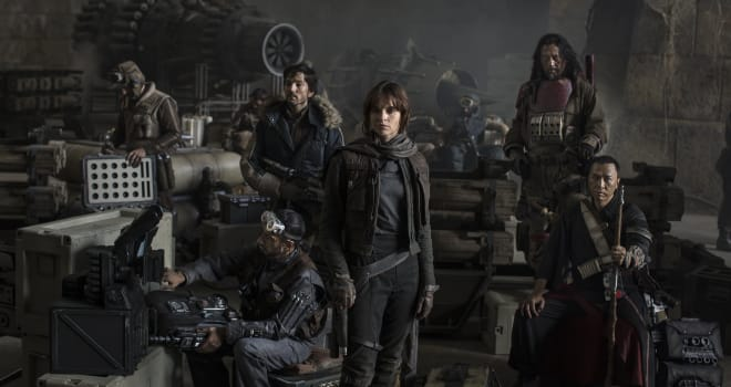 rogue one, rogue one: a star wars story, disney, star wars, rogue one cast, rogue one photo, felicity jones