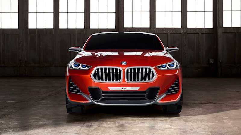 The BMW Concept X2 broke a bunch of the brand's design rules