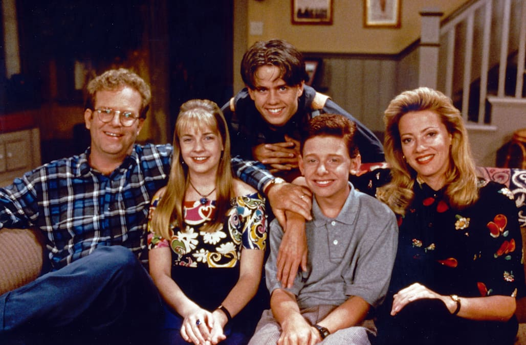 Clarissa explains it all, aka: Clarissa, Teenagerserie; USA 1991 - 1994, Darsteller: (v. l.) Joe O'Connor, Melissa Joan Hart, Se