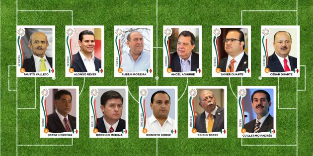 Los gobernadores más corruptos en México