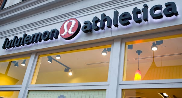 A Lululemon Athletica retail store in Washington, DC.