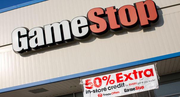 A GameStop retail store.
