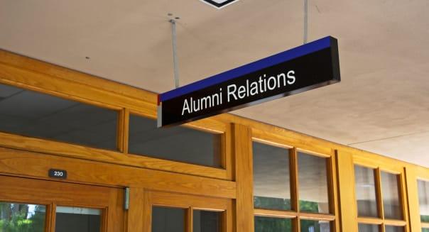 Alumni relations office, The Paul Merage School of Business, University of California, Irvine, California, USA (Sept 2006)