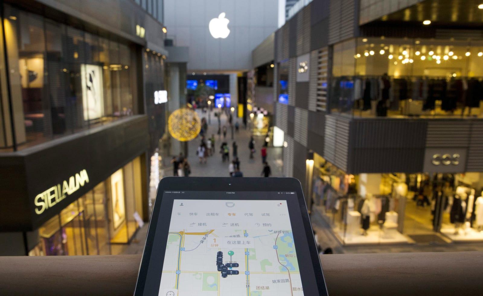 China Apple Didi Chuxing