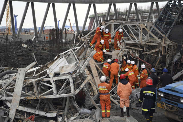 China Tower Collapse