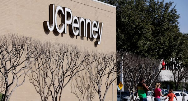 J.C. Penney Gains as Sales Forecast Signals Turnaround