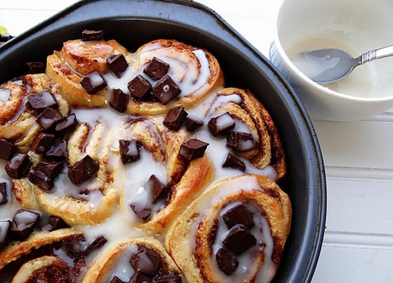 Cinnamon rolls, the ultimate dessert for breakfast
