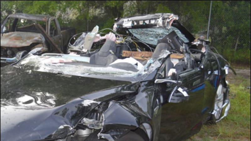 NTSB preliminary report: Tesla was speeding, Autopilot engaged