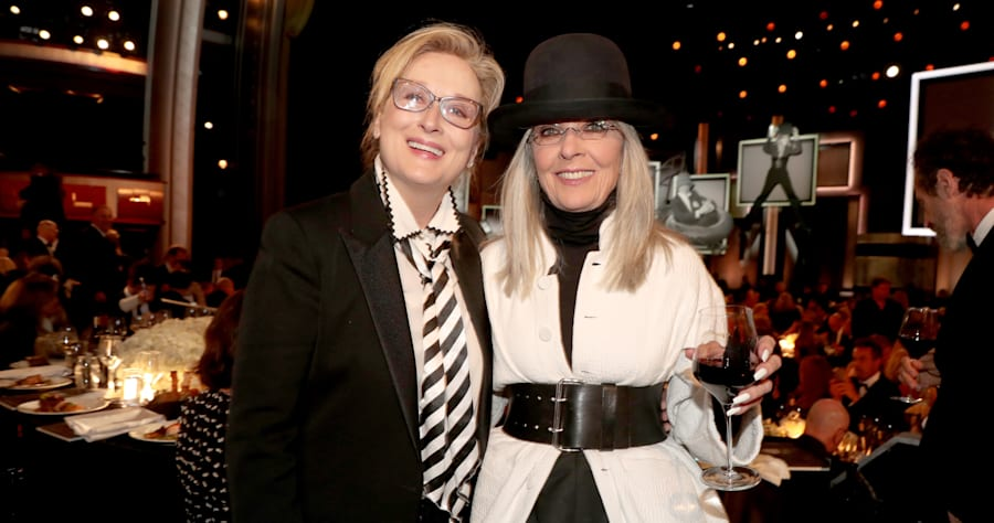 Meryl Streep and Diane Keaton