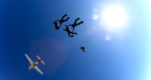 Skydive exit