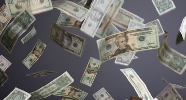 BDCXXR American currency falling  American; Currency; Money; Economy; cash; Invest; Stocks; Wealth; Banking; American; dollar; U
