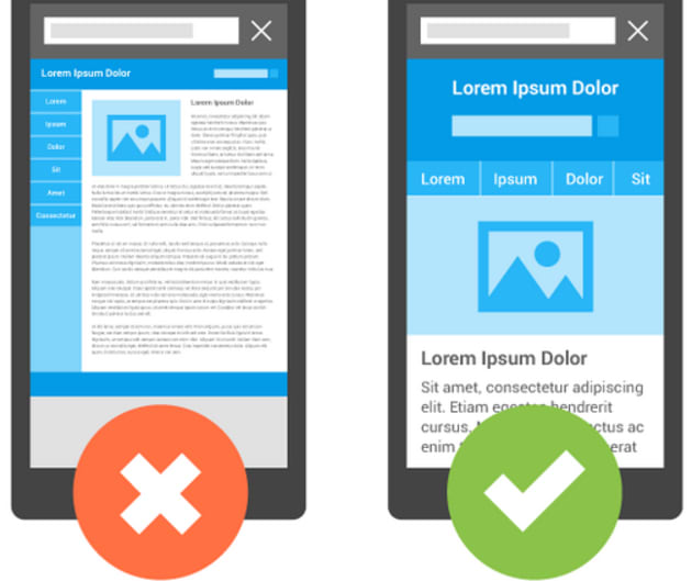Google's mobile search prioritizes sites optimized for phones