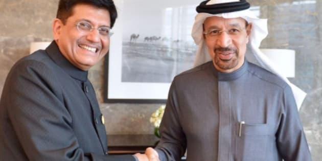 Indian flag seen upside down during Piyush Goyal's visit to Abu Dhabi