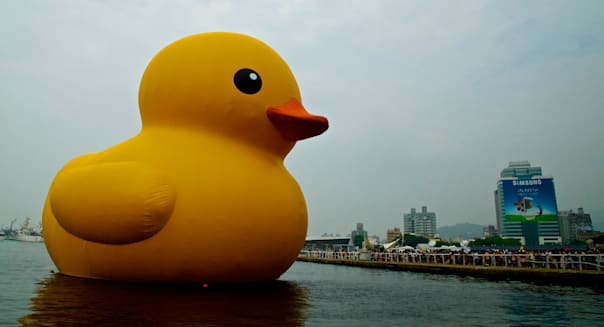 Rubber duck @ Kaohsiung