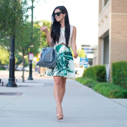 Street style tip of the day: Palm print