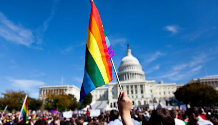 National Equality March in Washington DC