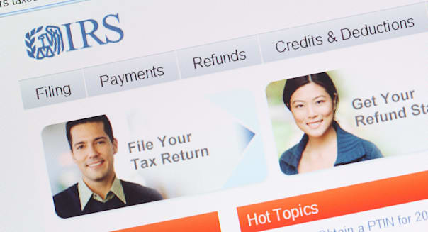 USA IRS US taxation online tax website