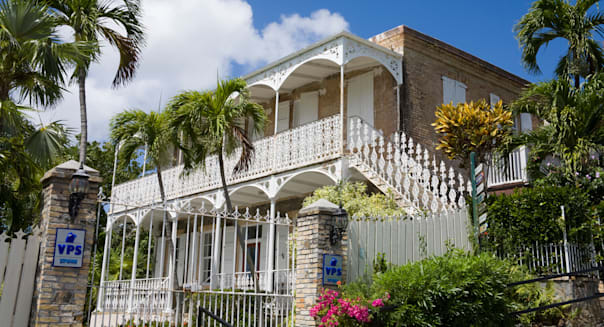 Villa Notman in Kongens Quarter, Charlotte Amalie, St. Thomas Island, U.S. Virgin Islands, West Indies