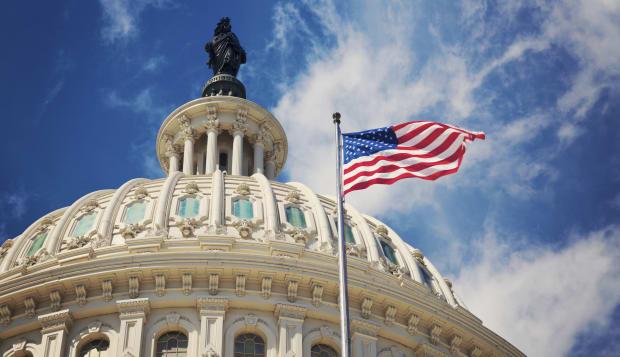 USA, Columbia, Washington DC, Capitol Building