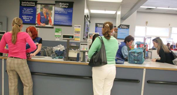 Florida Miami Walmart service desk customers employees