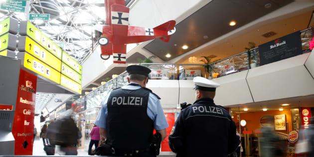 La chasse à l'homme est terminée — Allemagne
