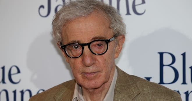 Woody Allen at the French Premiere of 'Blue Jasmine' on August 27, 2013