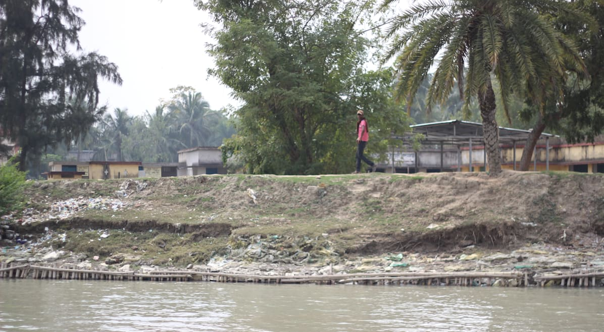 embankment of Sundarbans