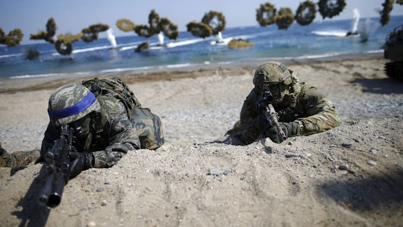 Marine Corps wants 'swarm' drones for amphibious warfare