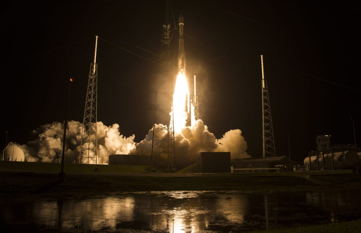 NASA Launches Craft To Study Earth's Magnetic Fields