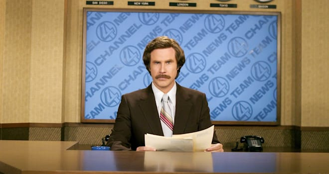 ANCHORMAN: THE LEGEND OF RON BURGUNDY (2004) WILL FERRELL ANCH 001-04