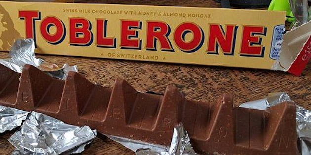 Jugé trop cher, le Toblerone change de forme au Royaume-Uni