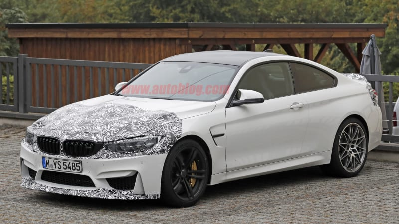 BMW M4 facelift spotted with possible M4 CSL in tow