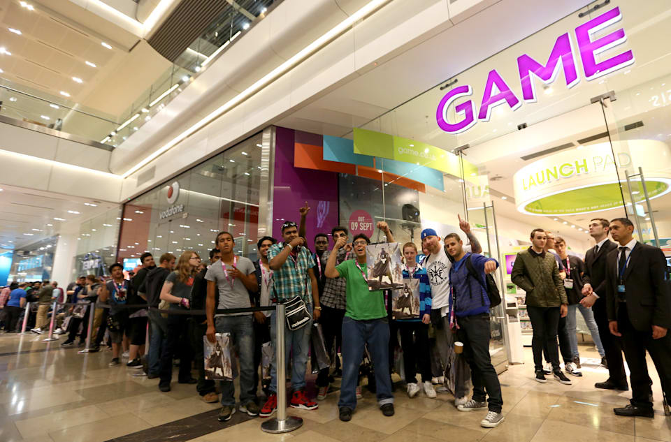 EDITORIAL USE ONLYFans queue outside GAME Westfield Stratford City for the midnight release of Destiny, the latest game from the creators of Halo. PRESS ASSOCIATION Picture date:�Monday September 8, 2014. Photo credit should read: Matt Alexander/PA