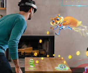 Microsoft Hololens Available on March 30, Complete With A Watered Down Conker!