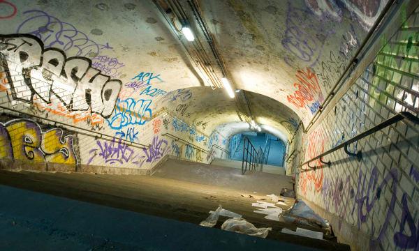 Abandoned Subway Stations Paris Metro, Station St. Martin