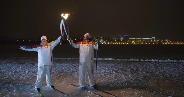 Russia Olympics Sochi Torch Relay