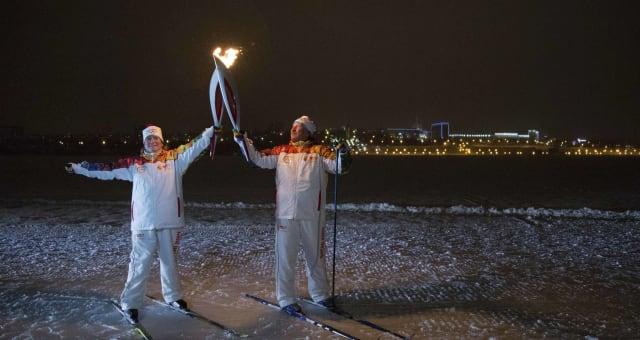 Russia Olympics Sochi Torch Relay