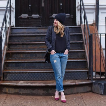 Street style tip of the day: Bomber jacket