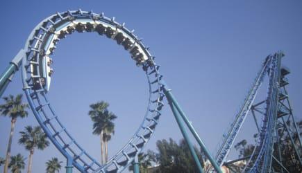 'Roller Coaster, Knott's Berry Farm, Buena Park, California'