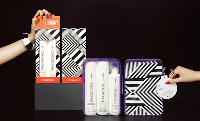 Paul Mitchell GIVE BEAUTIFULLY Holiday 2015 Gift Sets