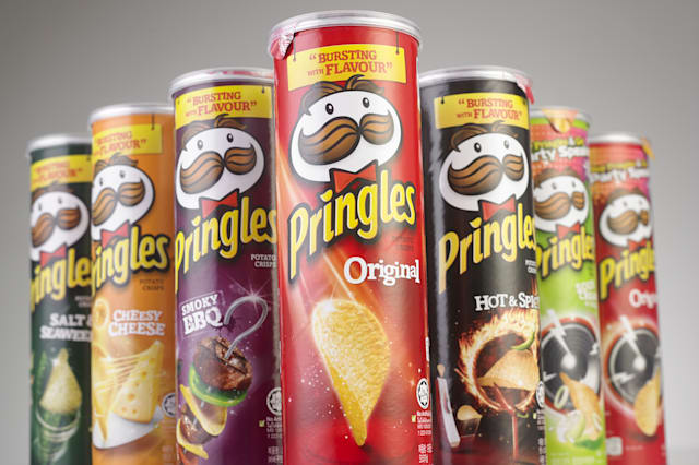 Pringles called 'idiots' for their iconic tube because they can't be recycled