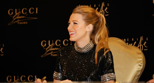 Who wore what this weekend: Blake Lively in Gucci, Sandra Bullock, and more
