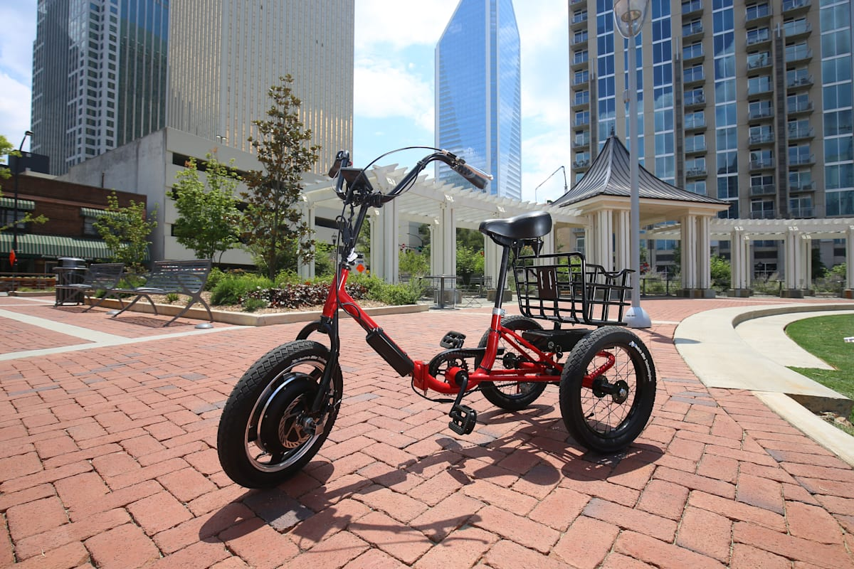 The Liberty Trike is a 21st century Rascal