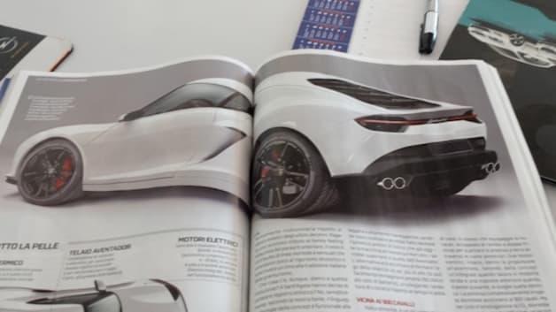 Lamborghini leak