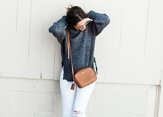 Street style tip of the day: Cozy casual
