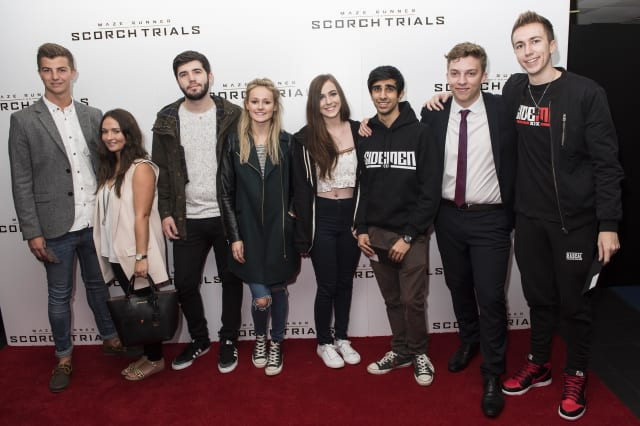 Maze Runner: The Scorch Trials UK fan event at the Vue West End - London