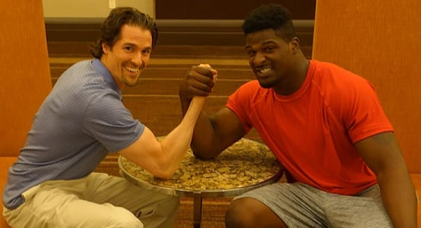 I Arm-Wrestled NFL Rookie Dee Ford to Teach Athletes About Money
