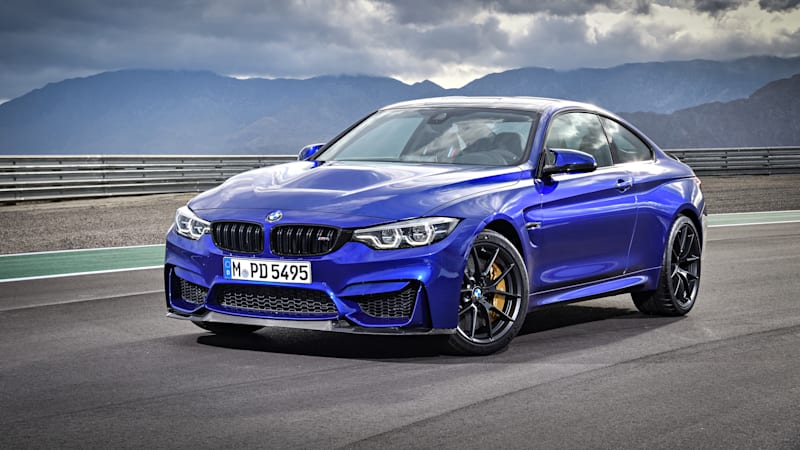 BMW M4 CS Will Be Joining The No-Stick Club